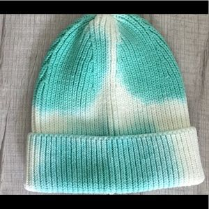 NWOT Gap Tie Dyed Ribbed Beanie Cap Hat OS
